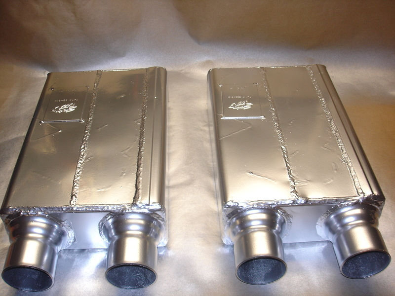 1996-2004 Mustang GT Spintech SCS333 Mufflers (Roush Replacements)