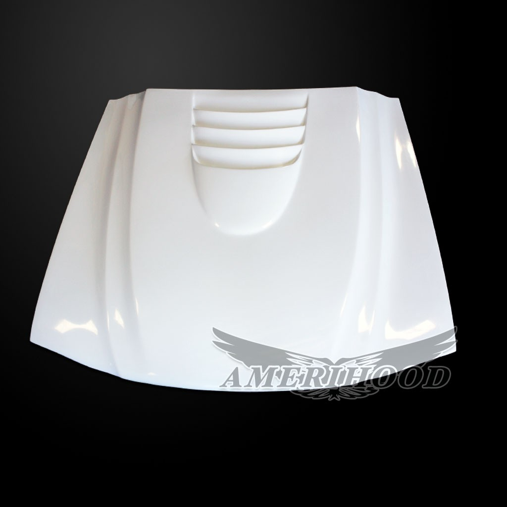 94-98 Mustang Type-1 Cobra R 2000 Style Functional Heat Extraction Cooling Hood by Amerihood (Fiberglass)