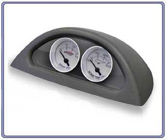 99-04 Simco Custom Electric Gauge Pod Boost & Air Temp - CLASSIC