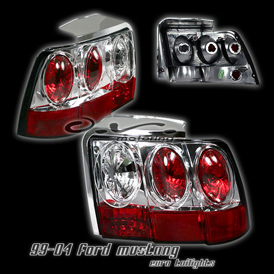 99-04 Mustang Taillights GEN 5 - CHROME (Pair)