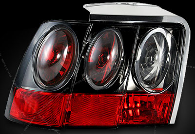 99-04 Mustang Taillights GEN 5 - SMOKED (Pair)