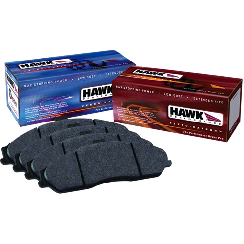 1999-04 Mustang GT/V6 Hawk HPS Rear Brake Pads
