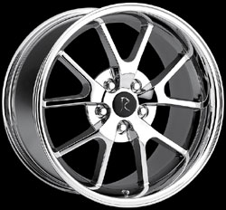 "FR500 - CHROME - 5 Lug 94-04 (sizes available 17"", 18"" Staggered)"