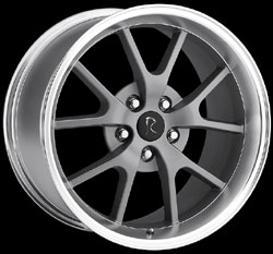 "FR500 - ANTHRACITE GRAY - 5 Lug 94-04 (sizes available 17"", 18"" & Staggered)"
