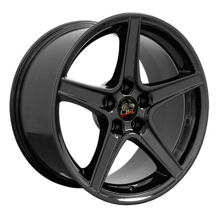SALEEN STYLE BLACK - 5 Lug 94-04 (sizes available 18x9 or 18x10 Staggered)