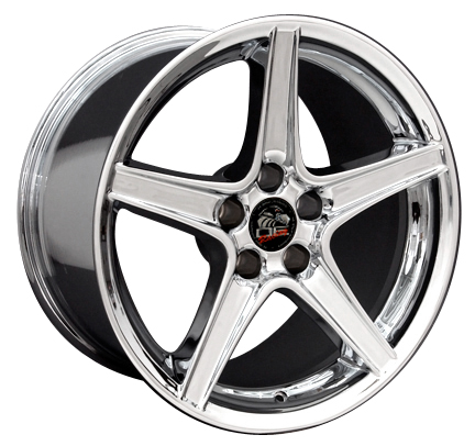 SALEEN STYLE CHROME - 5 Lug 94-04 (sizes available 18x9 or 18x10 Staggered)