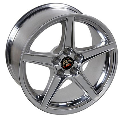 SALEEN STYLE POLISH - 5 Lug 94-04 (sizes available 18x9 or 18x10 Staggered)