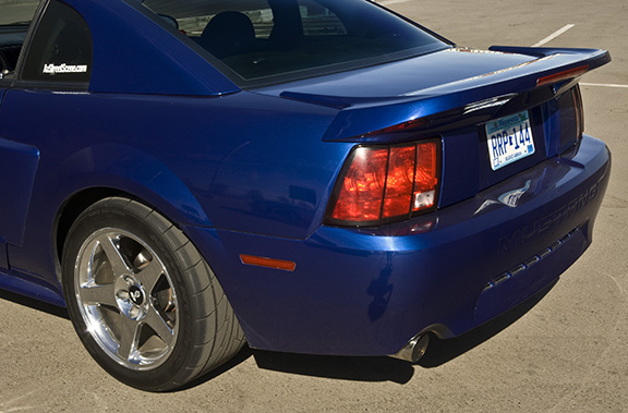 1999-2004 Mustang Saleen S281 Wing w/3rd Brake light included