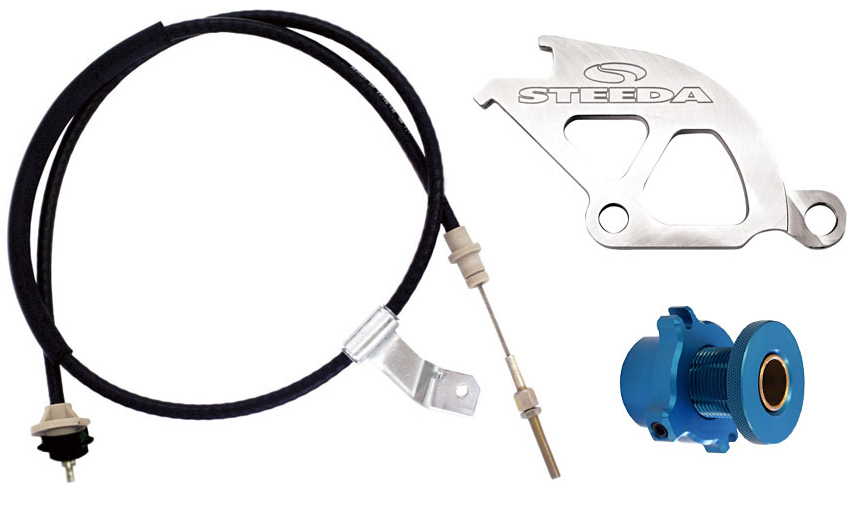 1996-04 Mustang GT/Cobra Steeda Clutch/Cable Adjuster Kit