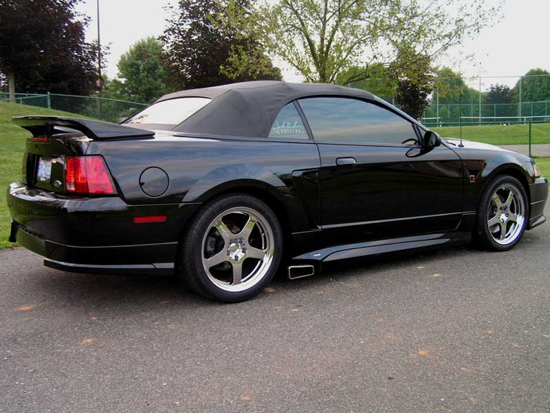 1999-04 Mustang Roush V6 Side Exhaust System (Enhanced Sound)