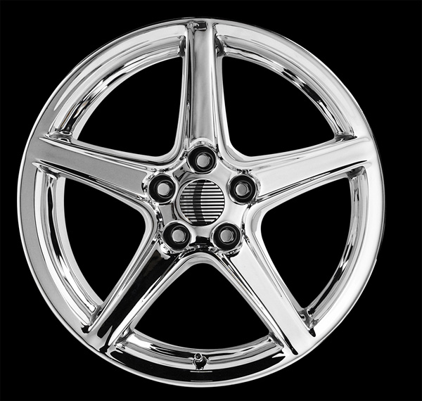 "STALKER STYLE ""S"" CHROME - 5 Lug 94-04 (sizes available 17"", 18"", 20"" & Staggered)"