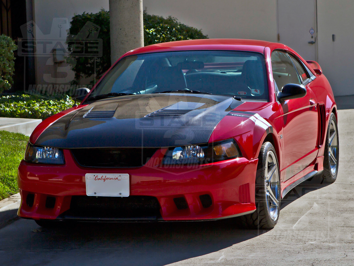 99-04 Mustang Mustang TruFiber A70 Saleen Extreme Style Hood by Trufiber - CARBON FIBER