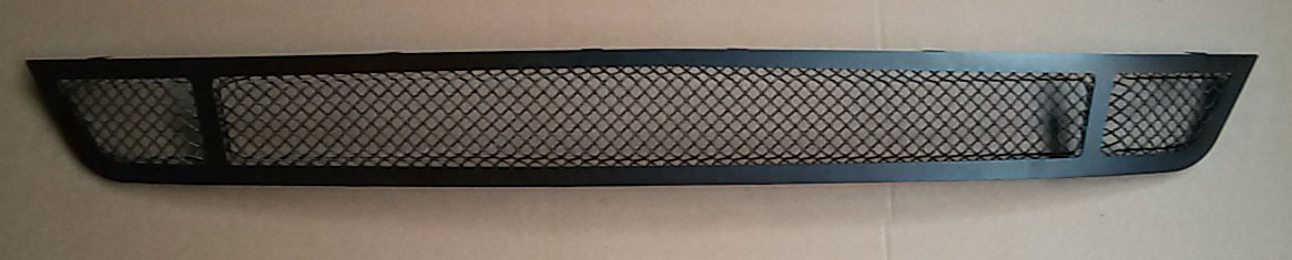 2015-2017 - Upper MESH Full Replacement 3D Formed MESH Grilles - BLACK (GT, V6, ECO BOOST, 50th) 3 QUARTERED LOOK