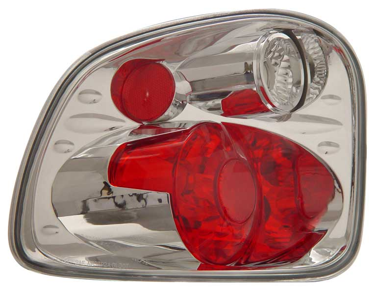 2001-2003 Ford F150 Flareside Altezza Tail Lights - Chrome