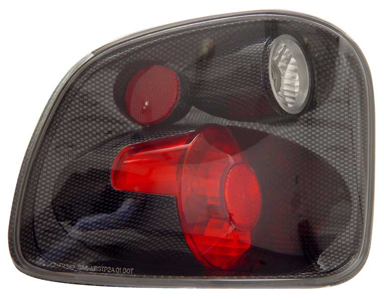 2001-2003 Ford F150 Flareside Altezza Tail Lights - Carbon