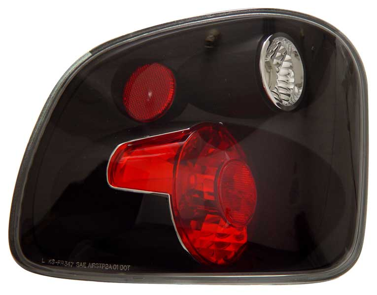 2001-2003 Ford F150 Flareside Altezza Tail Lights - Black