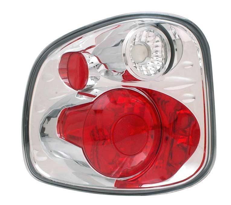 1997-2000 Ford F150 Flareside Altezza Tail Lights G3 - Chrome