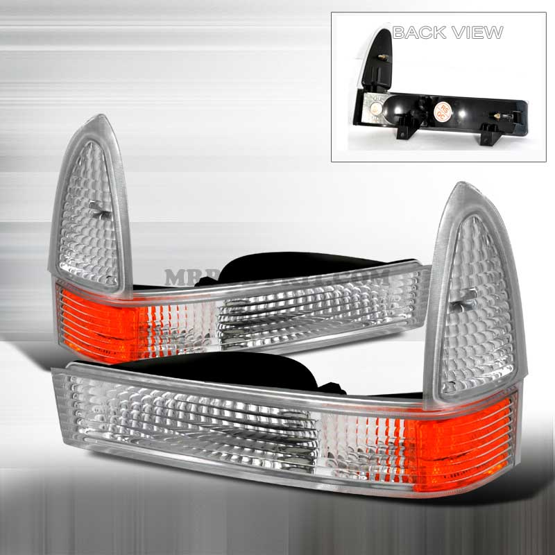 1999-2004 Ford F-250/F-350 CORNER LIGHTS CHROME