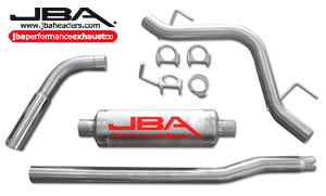 2004-08 F-150 4.6/5.4 JBA Single Side Exit Exhaust System