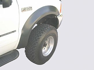 1999-2005 F250/F350 Round Style Fender Flares (set of 4)