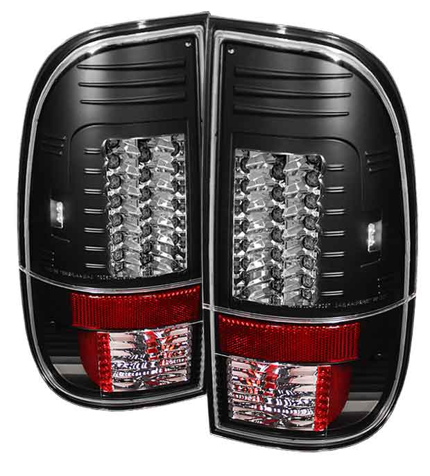 2008-2010 Ford F-250 / 350 / 450 Super Duty LED Tail lights V2 - Black