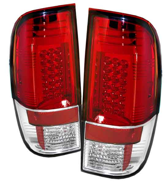 2008-2010 Ford F-250 / 350 / 450 Super Duty LED Tail lights V1 - Red