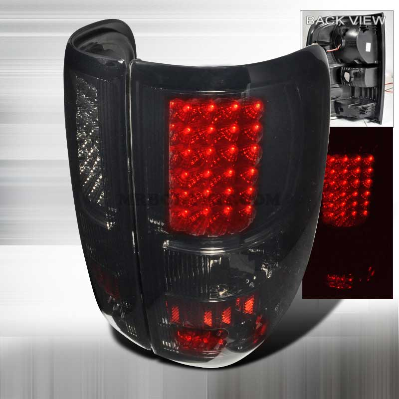 2004-2008 Ford F-150 Styleside LED Tail Lights - Smoked