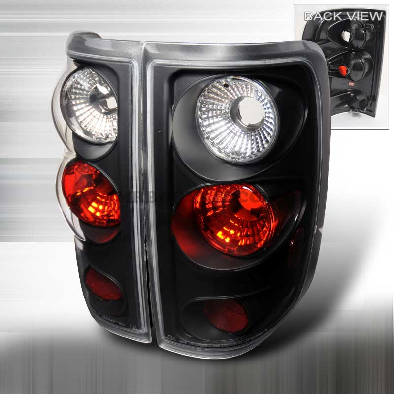 2004-2008 Ford F-150 Styleside Altezza Tail Lights - Black