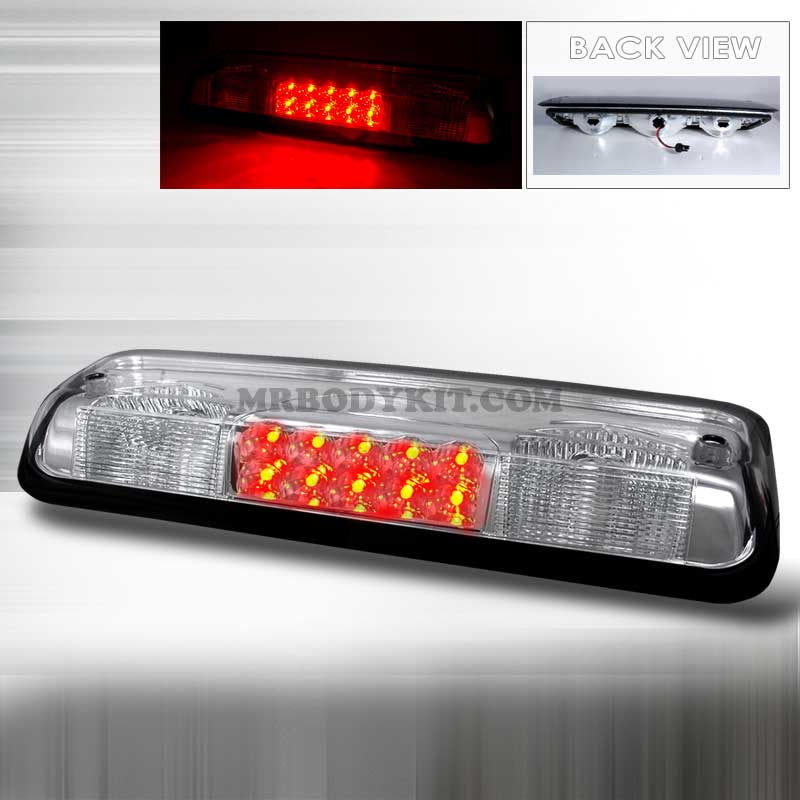 2004-2008 Ford F-150 LED 3rd Brake Light - Chrome