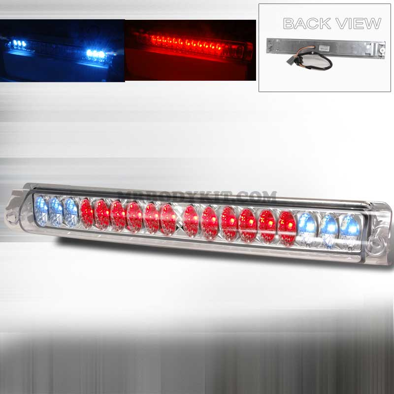 1997-2003 Ford F-150 LED 3RD BRAKE LIGHT KIT - CHROME