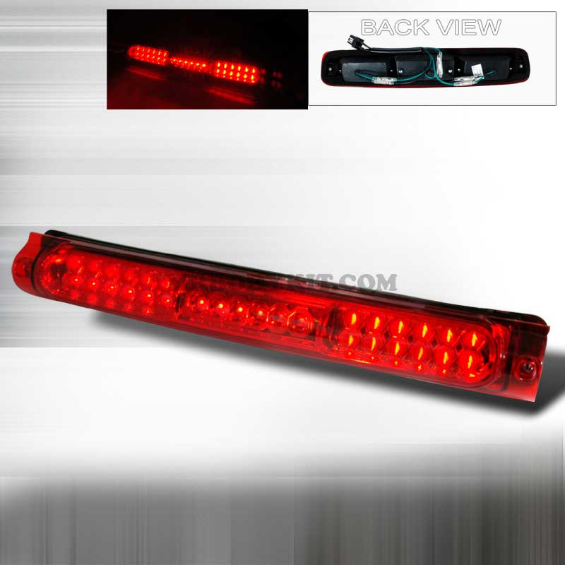 1997-2003 Ford F-150 LED 3RD BRAKE LIGHT KIT V2 - RED