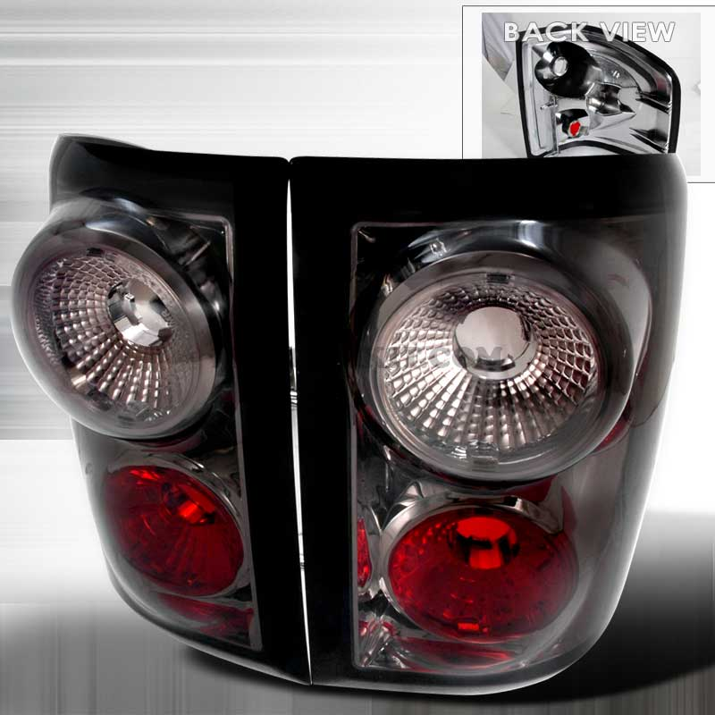 2004-2006 Ford F-150 Flareside Euro Altezza Tail Lights - Smoked