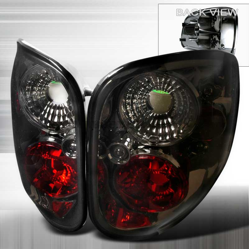 1997-2000 Ford F150 Flareside Altezza Tail Lights - Smoked