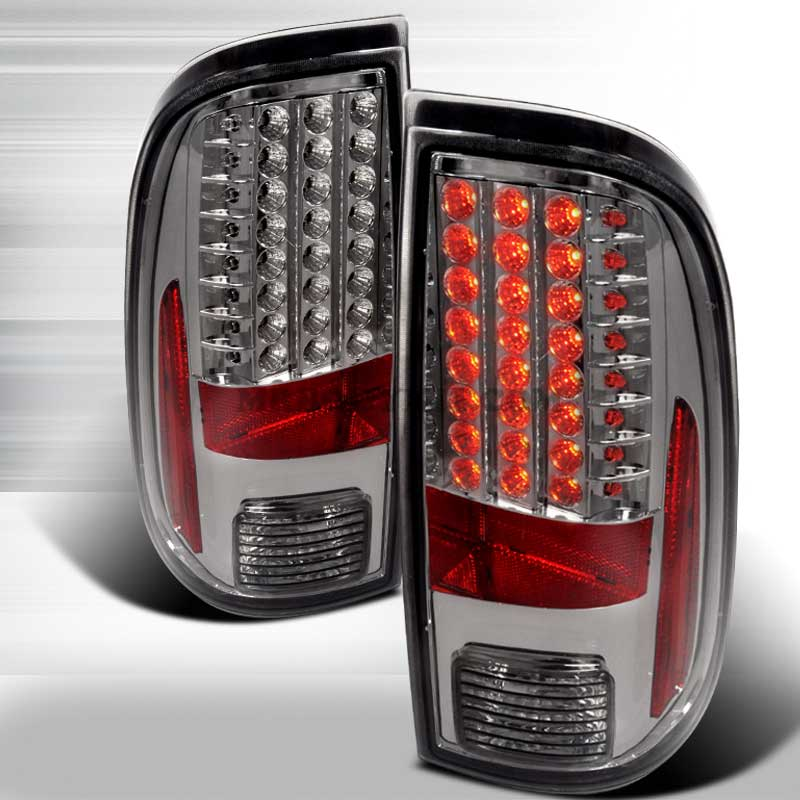 2008-2010 Ford F-250 / 350 / 450 Super Duty LED Tail lights - Smoked