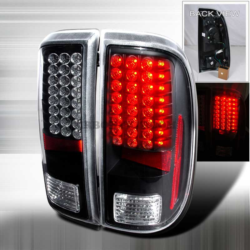 2008-2010 Ford F-250 / 350 / 450 Super Duty LED Tail lights - Black