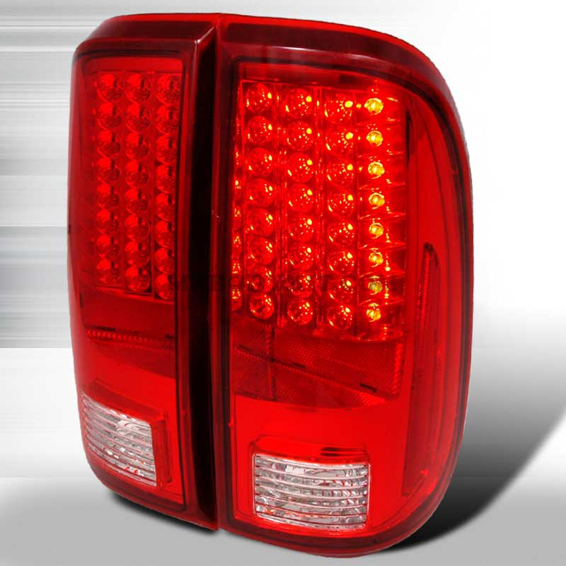 2008-2010 Ford F-250 / 350 / 450 Super Duty LED Tail lights - Red