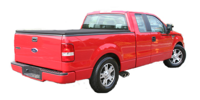 "2004-07 F150 4.6/5.4 Super Cab 6.5 Bed/Super Crew 5.5 Bed ""Loud Mouth II"" Side Exit Exhaust Kit"