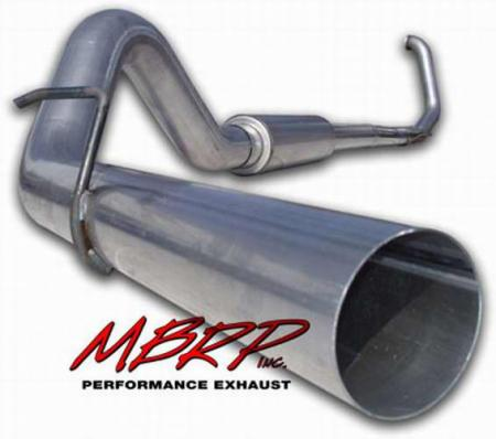 1999-03 7.3L F250/F350 MBRP 4 Inch Turbo Back Exhaust System - Installer Series
