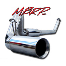 2003-07 6.0L F250/F350 MBRP 4 Inch Turbo Back Exhaust System - XP Series