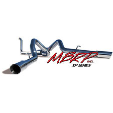 1999-03 7.3L F250/F350 MBRP Turbo Back Cool Duals Exhaust System - Pro Series