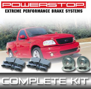 2001-2004 F-150 Lightning PowerStop Brake Kit - Rotors & Pads - 2WD