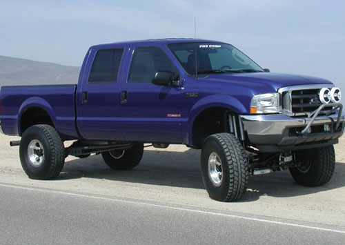 "1999-04 F-250/F-350 4x4 Pro Comp 4"" lift Kit (ES Shocks)"