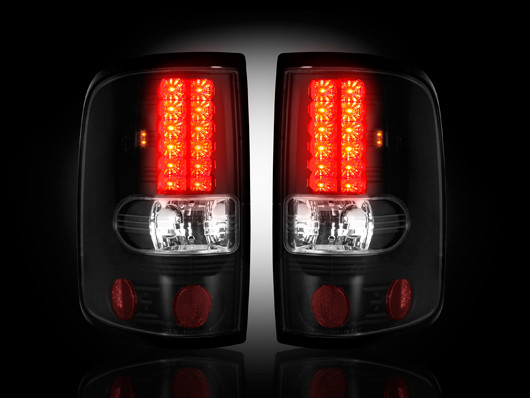 2004-2008 F-150 Recon LED Tail Lights - Smoked