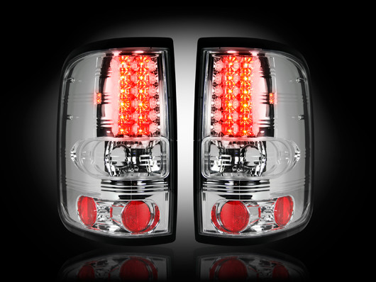 2004-2008 F-150 Recon LED Tail Lights - Clear