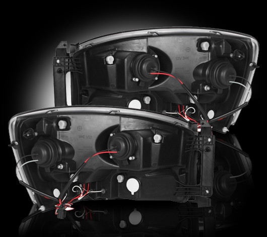 2004-2008 F-150 Recon Projector Headlights - Chrome