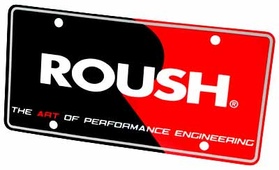 Roush Performance Mustang/F-150 License Plate