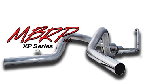 2003-07 6.0L F250/F350 MBRP 4 Inch Turbo Back Cool Duals Exhaust System - Off Road - XP Series