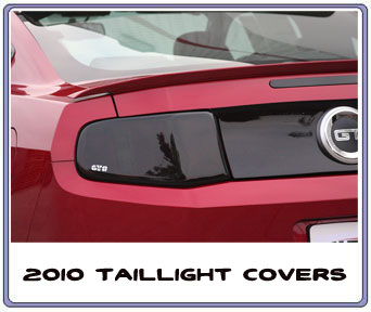 2010-2013 Mustang Taillight Covers GTS SMOKED (Pair)