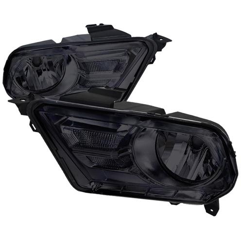 2010-2012 Mustang Headlights GEN X - SMOKED LENS (Pair)