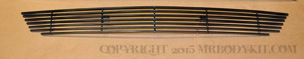 2015-2017 - 1PC Lower Billet Grille - BLACK (GT, V6, ECO BOOST, 50th)